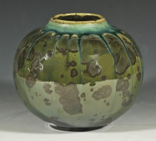 Crystalline Pottery Hummingbird Studios Barry Weiss